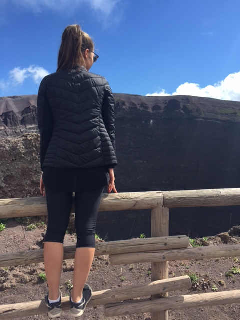 Pondering life at Mount Vesuvius